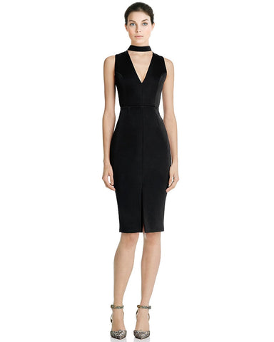 Keepsake This One Cutout Fitted Sleeveless Sheath Cocktail Dress
