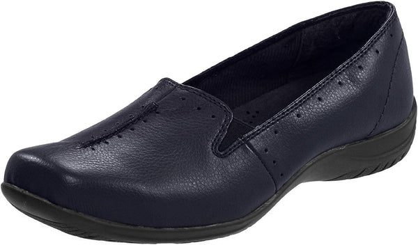 Easy Street Women's Purpose Navy Synthetic flats - Shoes 11 B (M) US