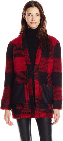 Greylin Women's Mason Wool Plaid Jacket