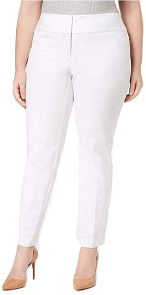 Alfani Plus Size Tummy Control Straight Leg Pants