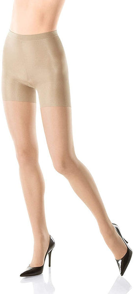 SPANX Style #009 All The Way Super Control Pantyhose (E, Nude), Nude, Size E