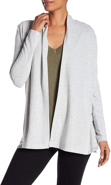 H By Bordeaux Hacci Cardigan, Heather, White X-Small
