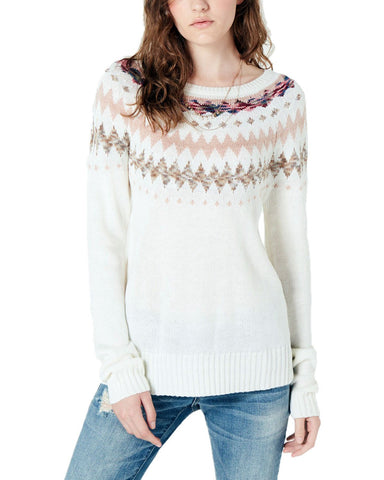 American Rag Juniors' Printed Sweater