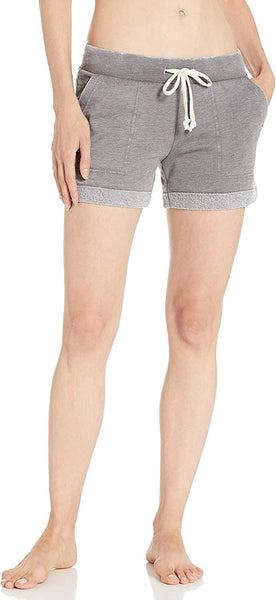 Alternative Women's Lounge Burnout French Terry Shorts