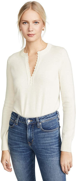 Theory Women's Cashmere Button Henley