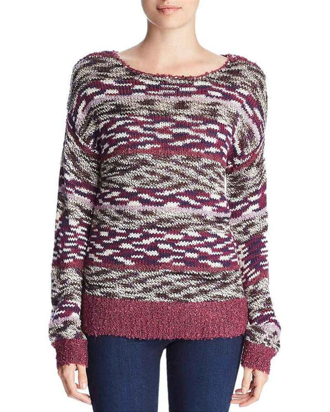 Cupio Womens Knit Long Sleeves Sweater