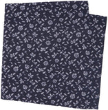 14th & Union Men's Spencer Floral Pocket Square - Size One Size | Navy