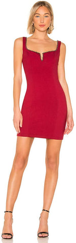 ASTR The Label Girl's Night Out Dress - Size X-Small, Red
