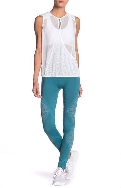 NUX Geneva Leggings, Blue , Small