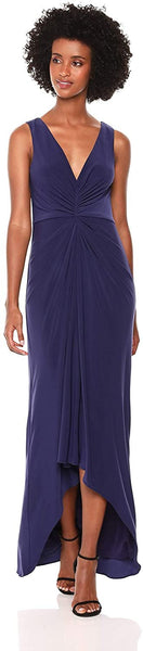 Plus Size Women's Adrianna Papell Draped Jersey Gown, Size 22W - Blue
