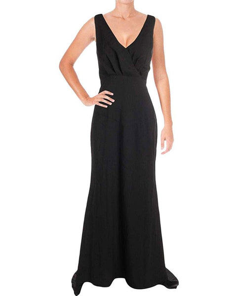 Jarlo Women's Kate Open Back V Neck Evening Dress