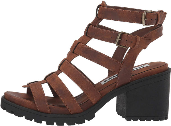Dirty Laundry by Chinese Laundry Women's Fun Stuff Heeled Sandal, Whiskey, 8 M US