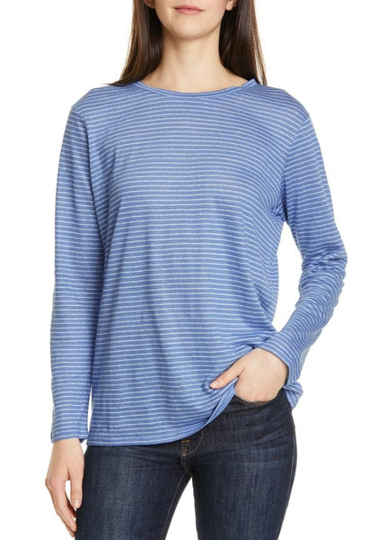 NORDSTROM SIGNATURE Women Long sleeves | Size - Medium | Blue