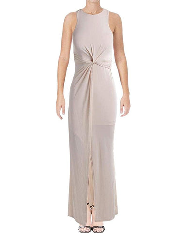 Bariano Women's Twisted High Waist Evening Dress