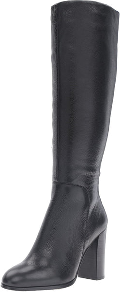 Kenneth Cole Women's Interior zipper Justin Engineer Boots | Size - 9.5 | Black