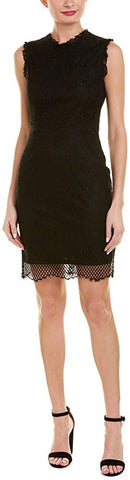 Betsey Johnson Women's Lace Sheath Cocktail Dress