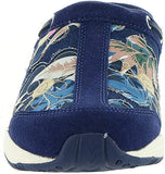 Easy Spirit Womens Travelport Grid Athletic Mules, Dark Blue