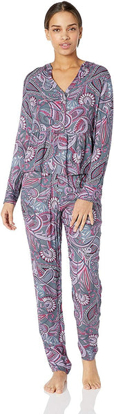 Josie By Josie Natori Women's Printed Twill Pj Set