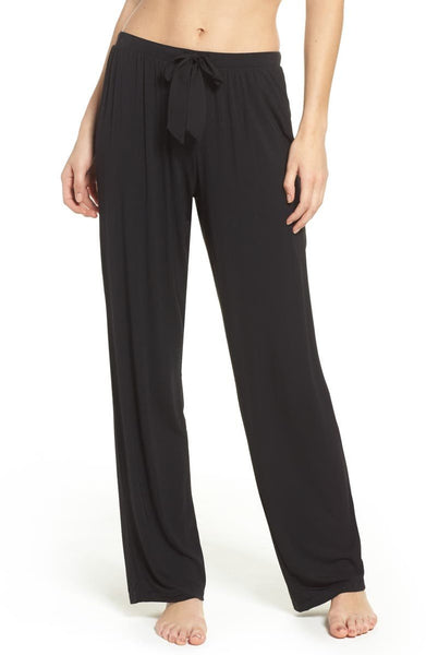 DKNY Women Elastic Lounge Pants | Size - Small | Color - Black