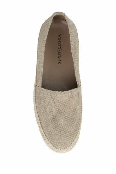 Donald Pliner Perci Casual Slip-On Espadrille Flat, Almond, 7.5