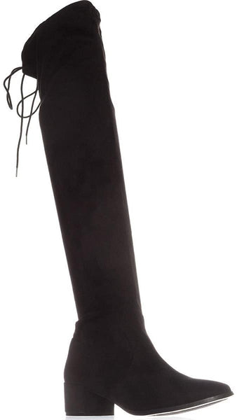 Chinese Laundry Mystical Pull On Over-The-Knee Boots, Black, 8 US / 38.5 EU