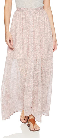 French Connection Women's Elao Maxi Sheer Floral Printed Skirt