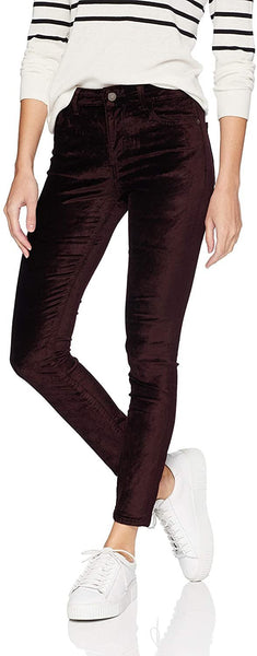 Women's Dl1961 Margaux Instasculpt Ankle Skinny Velvet Pants, Size 25 - Purple