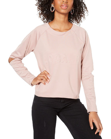 Material Girl Juniors' Cutout Sweatshirt