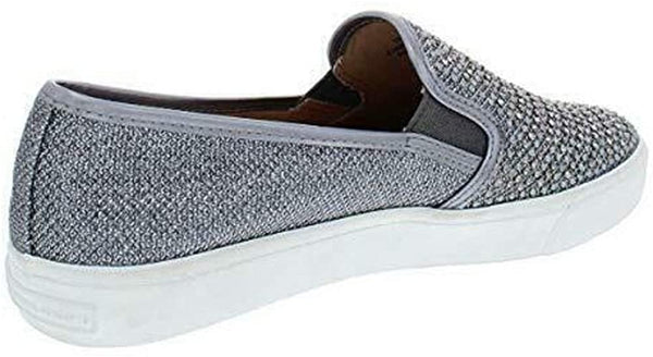 INC International Concepts Womens Sammee Cap Toe Loafers, Pewter, Size 7.5