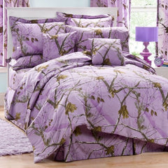 AP Lavender Camo Bed In A Bag