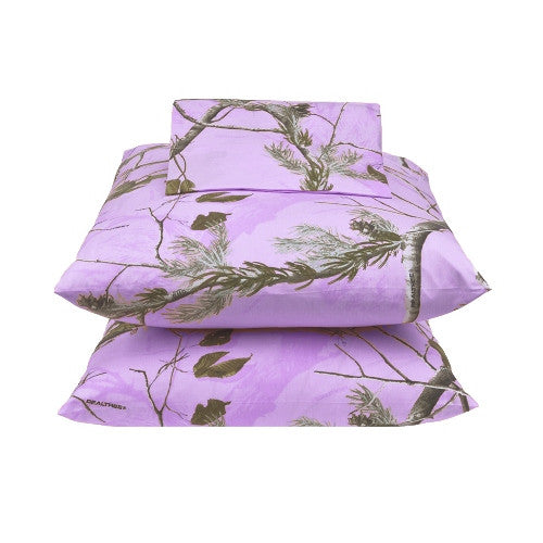 AP Lavender Camo Sheet Set