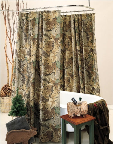 Advantage Classic Camo Shower Curtain