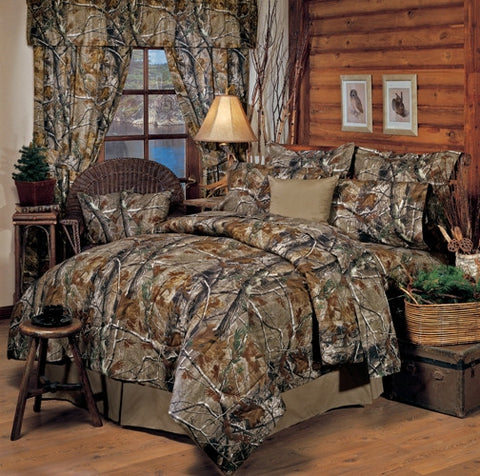 All Purpose Camouflage Comforter Set