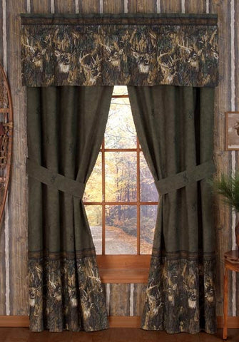 Browning Whitetails Window Treatments