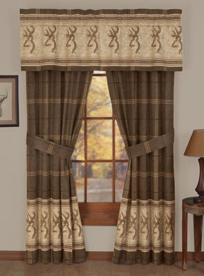 Browning Buckmark Window Treatments