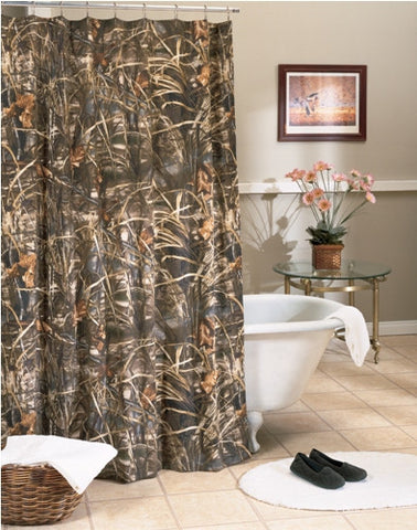 Max-4 Camo Shower Curtain