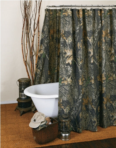 New Break-Up Camo Shower Curtain
