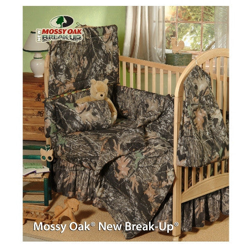 New Break-Up Camo Crib Bedding Set (6 Piece)
