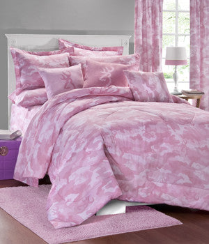 Buckmark Pink Army Camo Bed In A Bag
