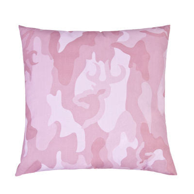 Buckmark Pink Army Camo Pillows