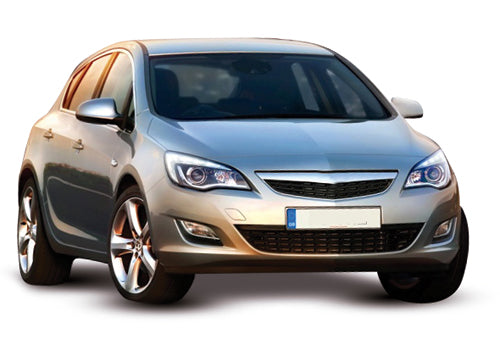 Vauxhall Astra 5 Door Hatchback 2010-2012