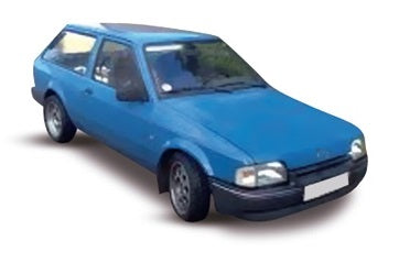 Ford Escort 3 Door Estate 1986-1990