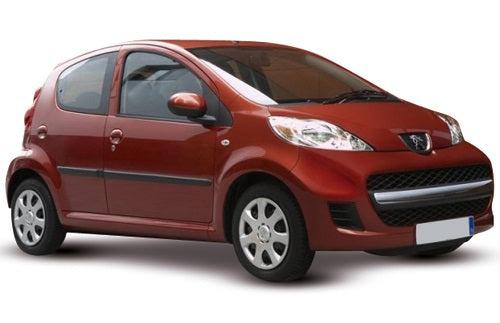 Peugeot 107 5 Door Hatchback 2009-2012