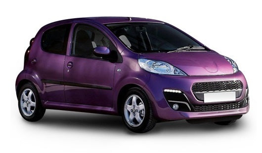 Peugeot 107 5 Door Hatchback 2012-2014