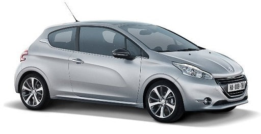 Peugeot 208 3 Door Hatchback 2012-2015