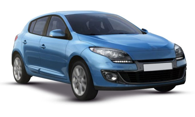 Renault Megane 5 Door Hatchback 2012-2013