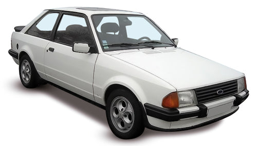 Ford Escort 3 Door Hatchback 1980-1986