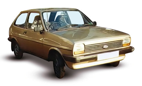 Ford Fiesta 3 Door Hatchback 1977-1983