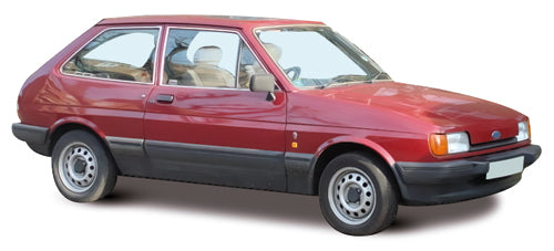 Ford Fiesta 3 Door Hatchback 1983-1989