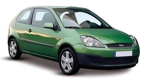 Ford Fiesta 3 Door Hatchback 2005-2008